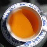 Refreshing orange based tea