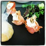 salmon with creamcheese