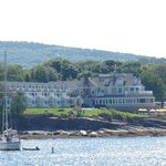 Bar Harbor Inn & Spa. I took this pic on a nature cruise we took the next day.