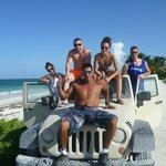 Jeep con Arturo (el guia)