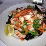 lobster salad includes whole lobter