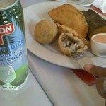 Mofongo Appetizer Plate