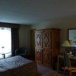 interior of room 224...