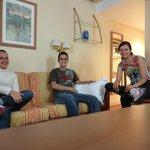 Sala do apart-hotel (apt 101)