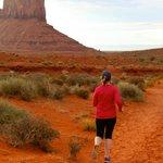 Nice run/ walk in Monument valley