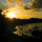 Por do sol na Rio das Conchas