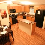 Two bedroom - fully equipped kitchen and dining area