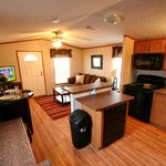 One bedroom fully equipped kitchen and living room