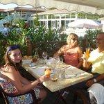 genieten van een etentje op het domein in restaurant Le Brantalou
