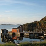 Old fishing stages in Durrells, twillingate