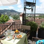 """Breakfast at the """"Terrasse"""""""
