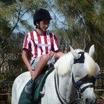 Paul, riding lesson 4