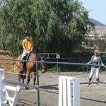 Paul, riding lesson 3