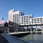 The Hotel from the boardwalk