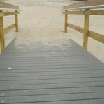 Handicap ramp, Walnut Beach