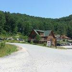 The main resort adventure area