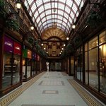 Central arcade, just adjacent of Grainger town. Full of indulgences...