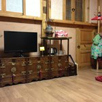 the cabinetry in the room