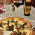 pizza carrettiera e Rauchbier di Bamberga