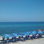 la meravigliosa spiaggia