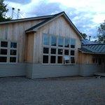Main lodge of Stratton Brook Hut