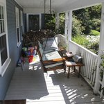 The porch, or is it a deck?