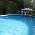 Summer dip-in pool
