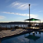 Pool overlooking Vanderkloof dam