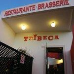 Restaurant entrance...