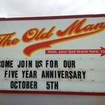 five year aniversary