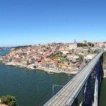 Vista da Cidade do Porto do Miradouro da Serra do Pilar