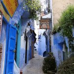 the community bakery next to a restaurant in Chefchaouen medina
