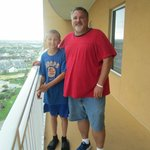 Me and Cal on 19th floor.