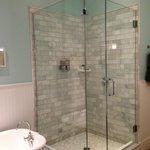 Gorgeous sparkling bathrooms