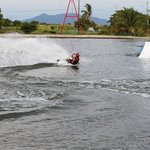 The wake boarding cable park was so much fun!