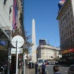 vista do obelisco