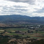 View of Rogue Valley from Upper Table Rock.