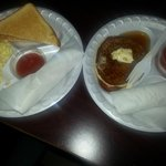 8/2/13...burrito,eggs& toast....or burrito & pancake