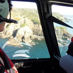 Beautiful views from the Helicopter over the Cavalli Islands