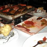 Dinner in Puerto Banus - The Old Grill - cook your own meat on a stone