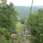 View from the chair lifts