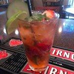 Strawberry Mojito at Sandbox