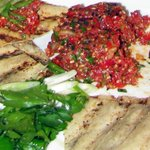Kibbeh Nayee - amazing flavors in this beef & lamb tartar!