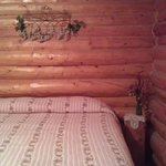 Cabin A queen bed