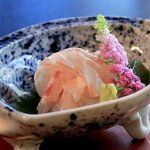 red sea bream sashimi