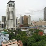 A nice view from the room towards Sukhumvit busy street