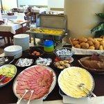 ottimo buffet colazione