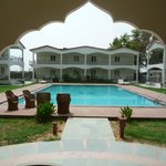 Pool with rooms