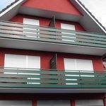 Chambres avec balcon coté cour