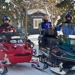 Go snowmobiling in winter